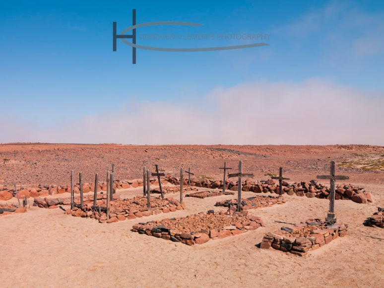 Cemetery, Cape Cross, Skeleton Coast, Namibia, Africa, 2010
