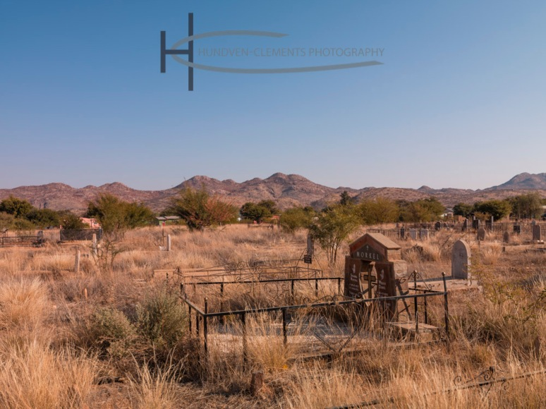 The Grave of Susanna Martina & William Daniel, Namibia, Africa,