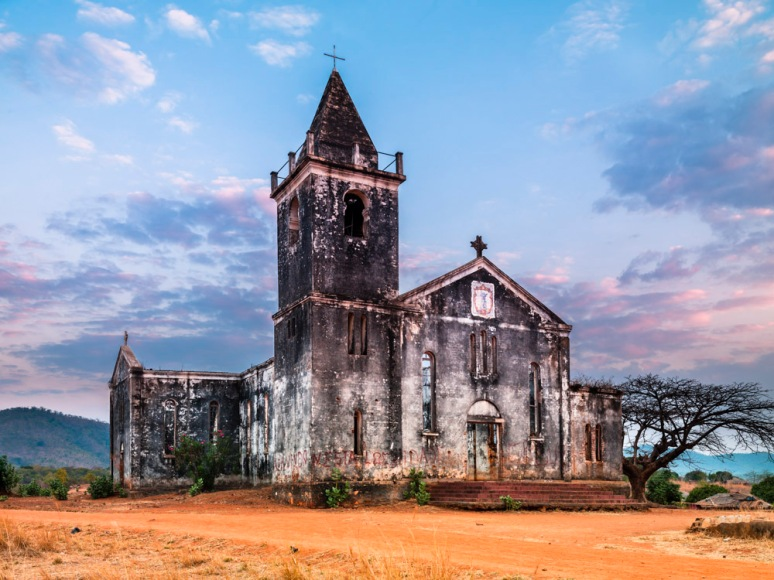 Roman Catholic Church, Cobue, Mozambique, Africa, 2010