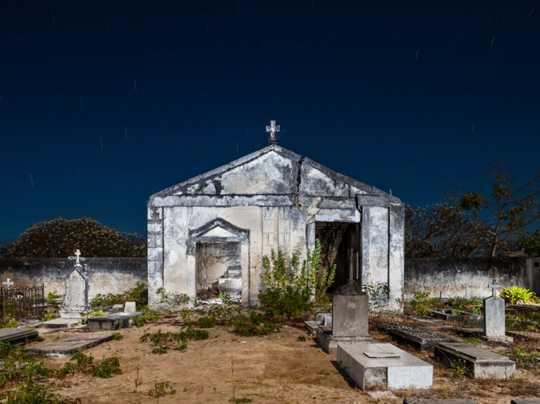 Cemetery Chapel, Ibo Island, Mozambique, Africa, 2010