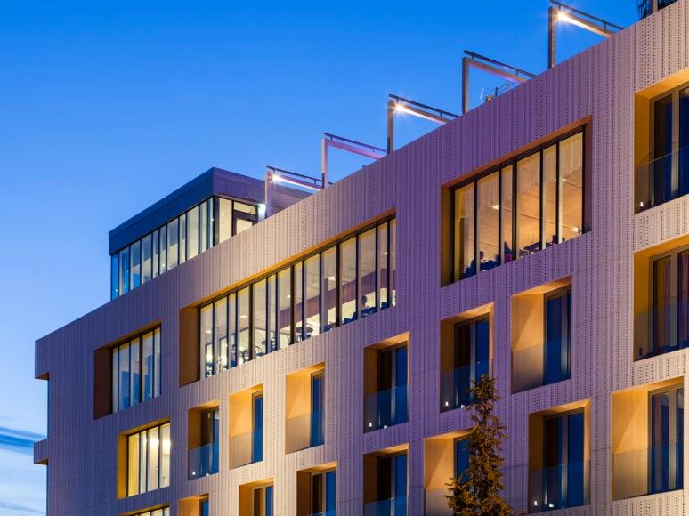 Detail of Hotel Von Kraemer Restaurant, Uppsala, Sweden designed by Link Arkitektur.