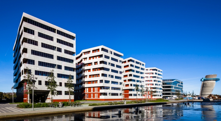 Overview of Seaview designed by Link Arkitektur, photgraphed by Hundven-Clements Photography.